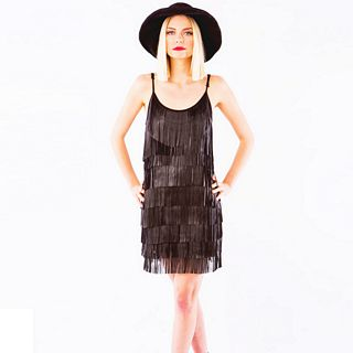 Icicle Fringe Dress