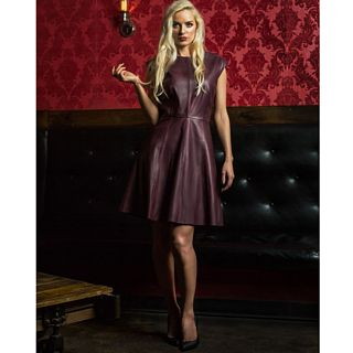 Oxblood Dress